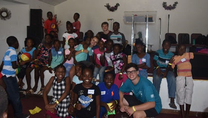God at Work … Bahamas Youth Mission Trip Update 1